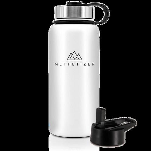 Mountain Bottle - Shiny White
