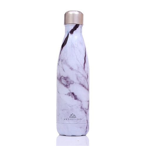Daily Bottle - White Marble