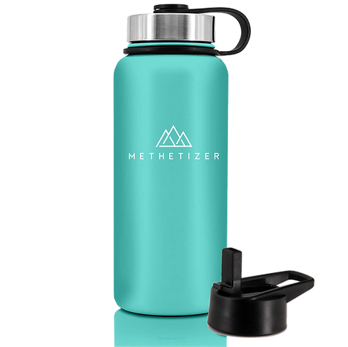 Mountain Bottle - Tiffany Blue