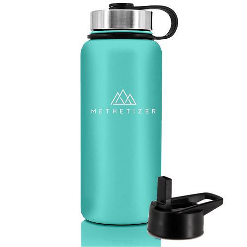 Mountain Bottle - Tiffany Blue