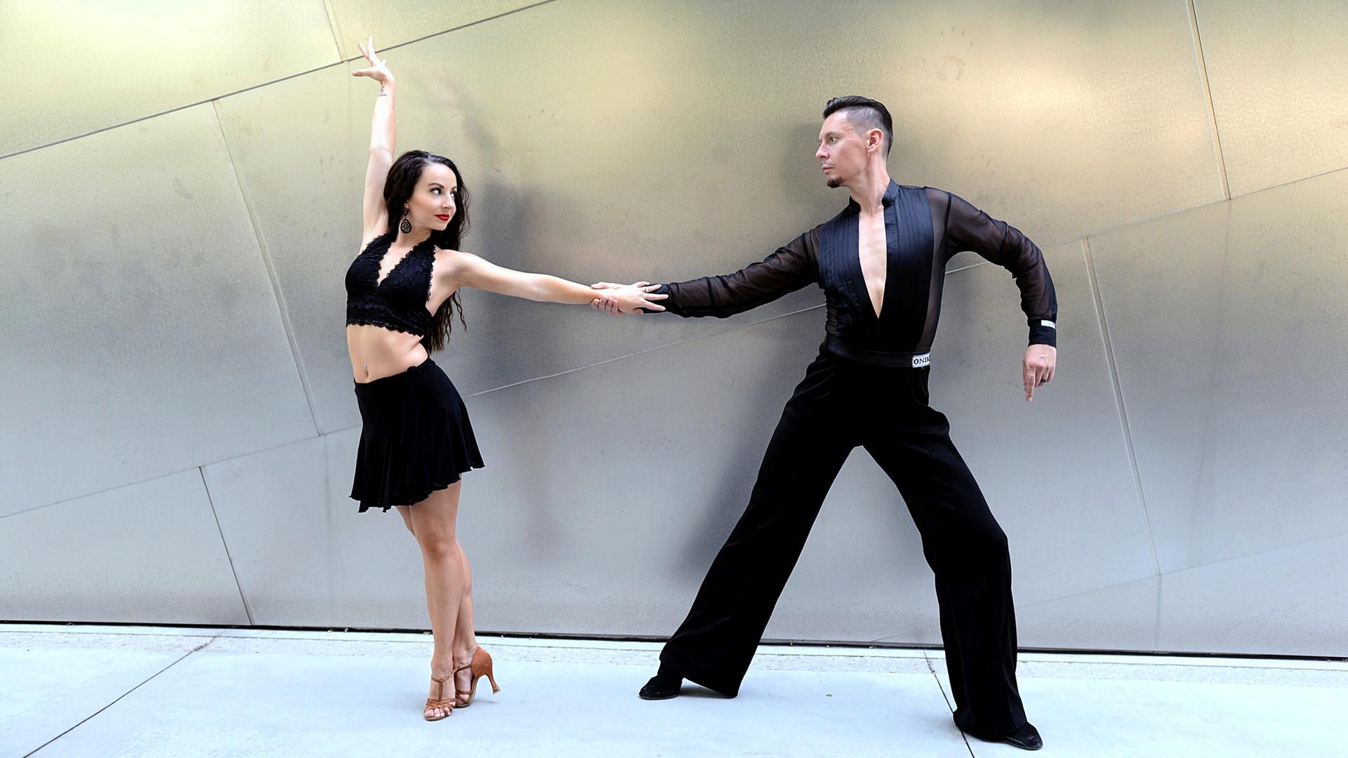 Erica and Artemi as Disney Concert Hall .jpg
