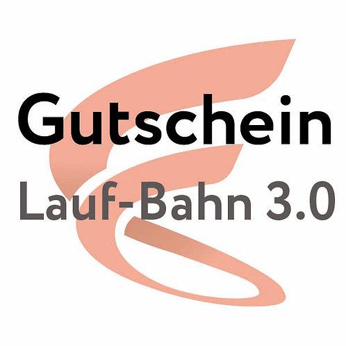 Gutschein Lauf Bahn 3.0