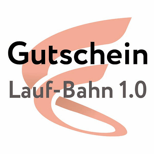 Gutschein Lauf Bahn 1.0