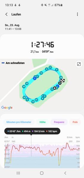 """""""12Min. schneller als bei meinem letzten Halbmarathon. Allein durch Deine Tipps in der Videoanalyse"""""""