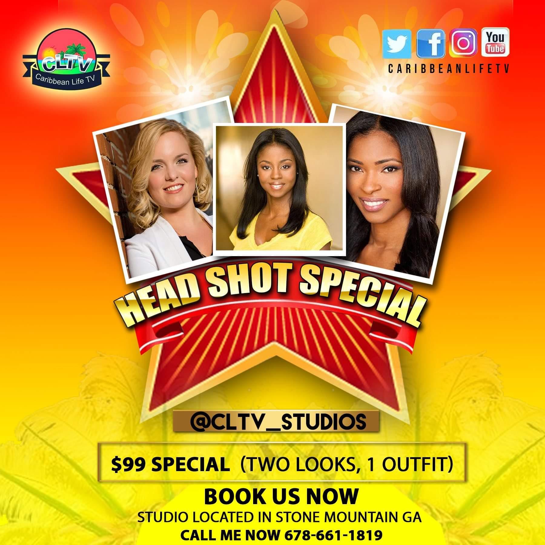 CLTV Studios Head Shot Special