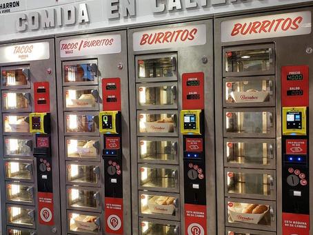 Conoce el nuevo modelo de venta de alimentos por máquinas expendedoras