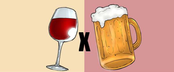 7 Motivos pelos quais a Cerveja é melhor que o Vinho