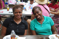 Fellowship barbecue at Prospect Park