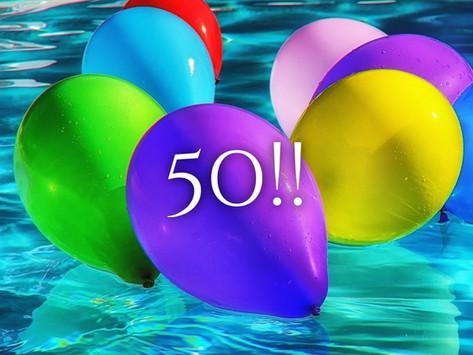 Fan-freaking-tastic 50!!