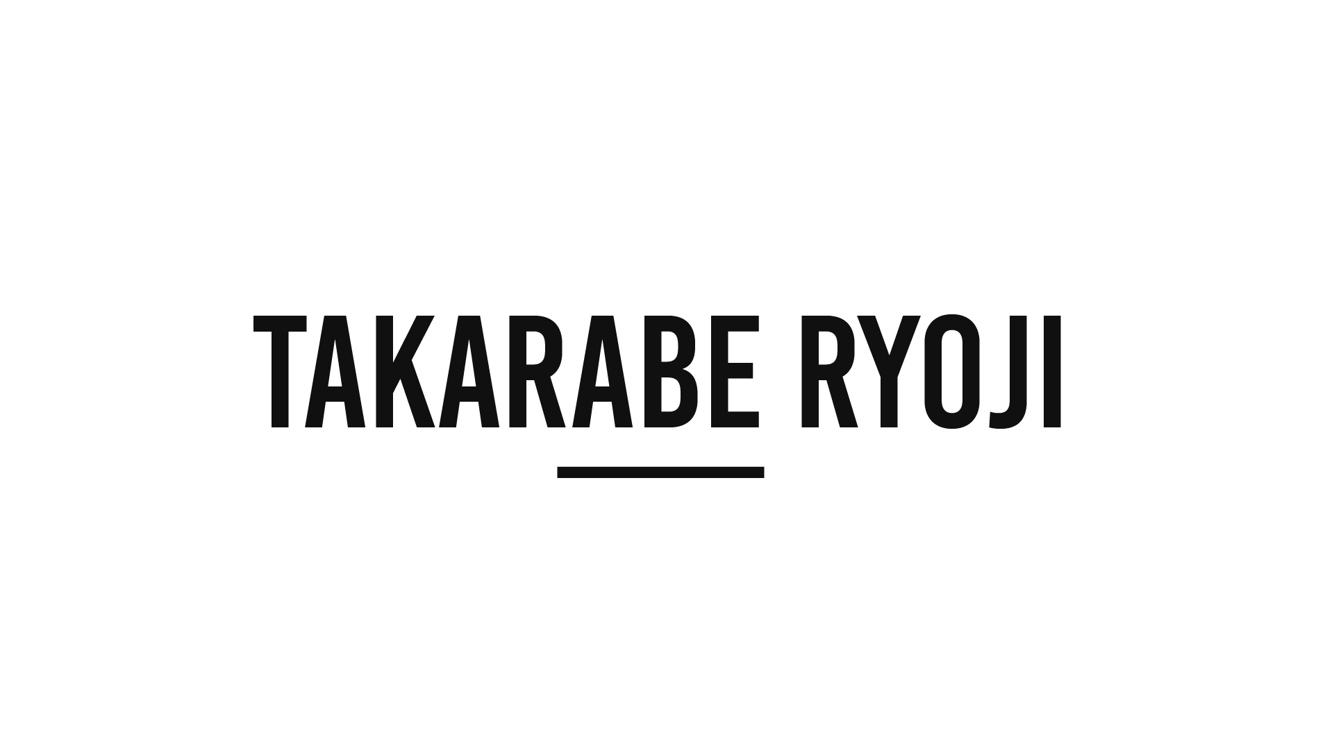 Takarabe Ryoji