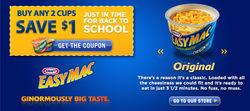 Kraft Mac & Cheese Back to School Ad