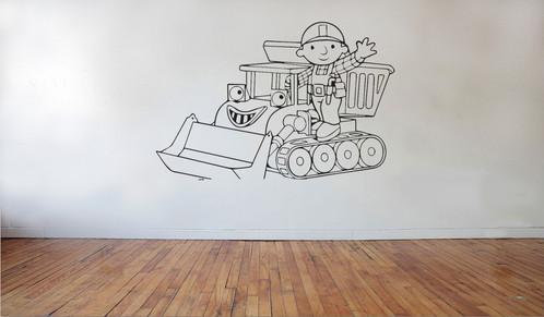 Bob The Builder 2 | Wall Stickers U0026 Decals | Newcastle Under Lyme | Vinyl  House U.K Part 55