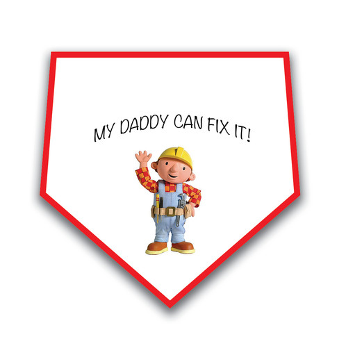 Bob The Builder Baby Bib