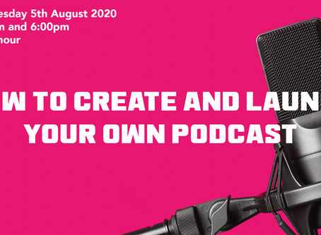 Create and launch your own podcast
