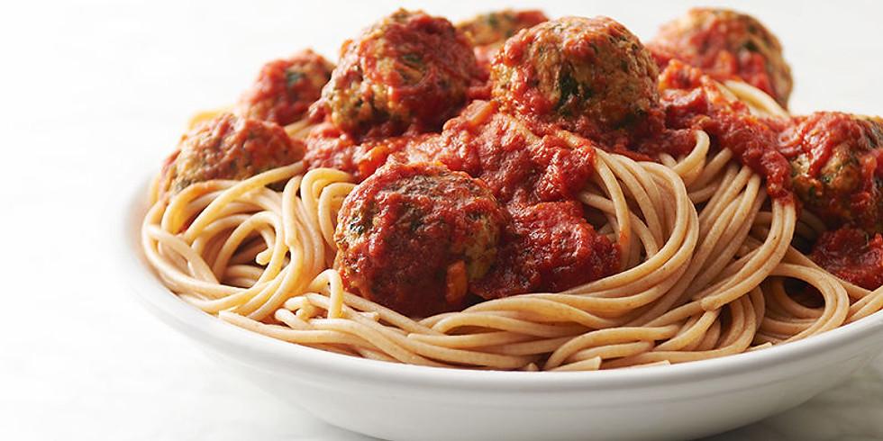 To-Go Spaghetti Dinner