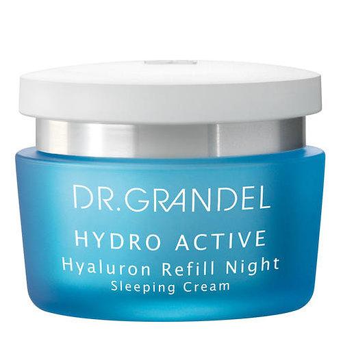 DR. GRANDEL Hyaluron Refill Night Een hydraterende crème voor de nacht - 50ml