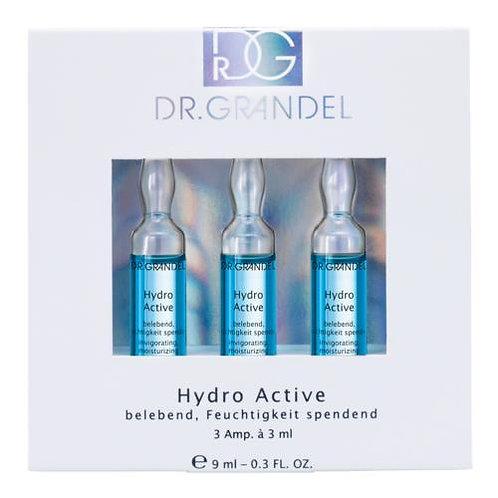 DR. GRANDEL Hydro Active Ampul Vochtconcentraat met opwekkende werking - 3x3ml