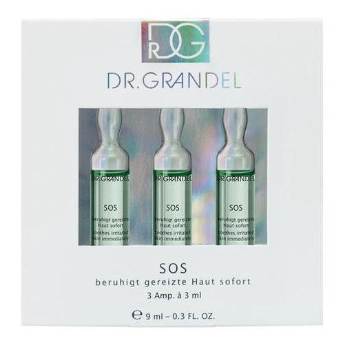 Play video DR. GRANDEL SOS Ampul Tegen geïrriteerde huid - 3x3ml