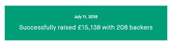 Zuby Kickstarter success