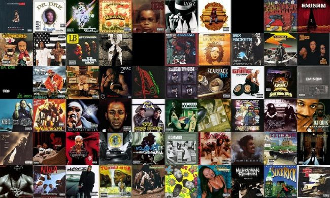 hip-hop album covers