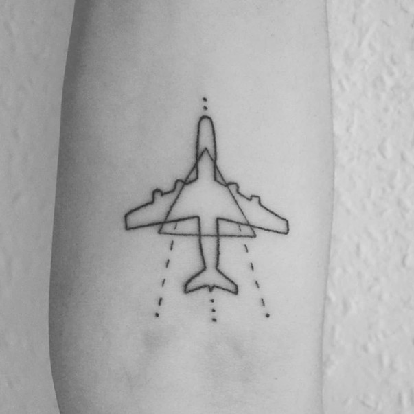 Airplane handpoke