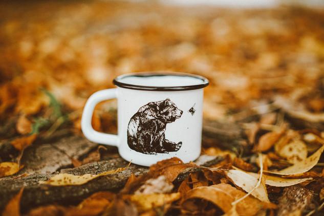 Bear & Bee mug