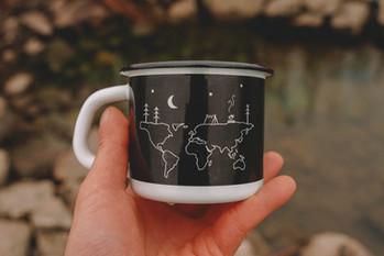 World camp night mug