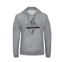 Grey hoodie