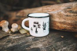 House plants mug