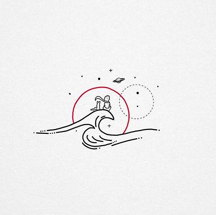 Little Prince handpoke design #handpoke