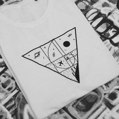 Fibonacci egyedi póló, t-shirt, totebag, space, univerzum, pulcsi