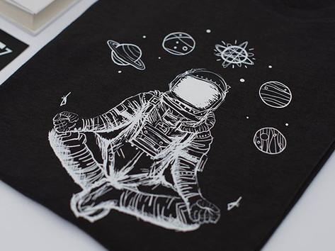 Asztronauta póló, astronaut t-shirt