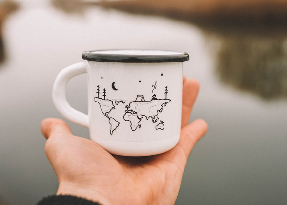 World camp mug