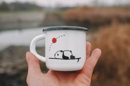 Panda Surf mug