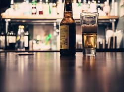 Blue Jo's Beer bottle