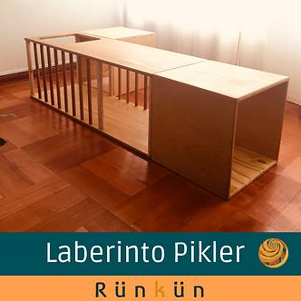 Laberinto Pikler (con dos cubos)