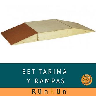 Set Tarima y rampas Pikler