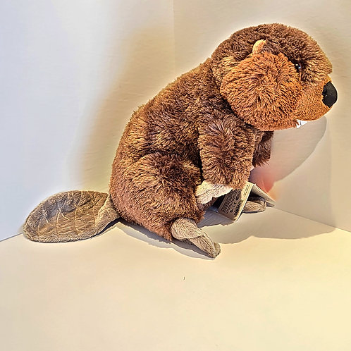 "12"" Beaver Stuffed Animal"