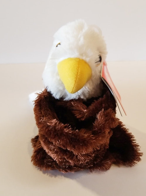 "8"" Huggers Bald Eagle Stuffed Animal"