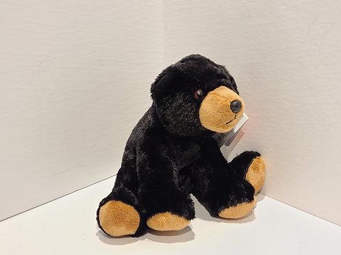"12"" Black Bear Stuffed Animal"