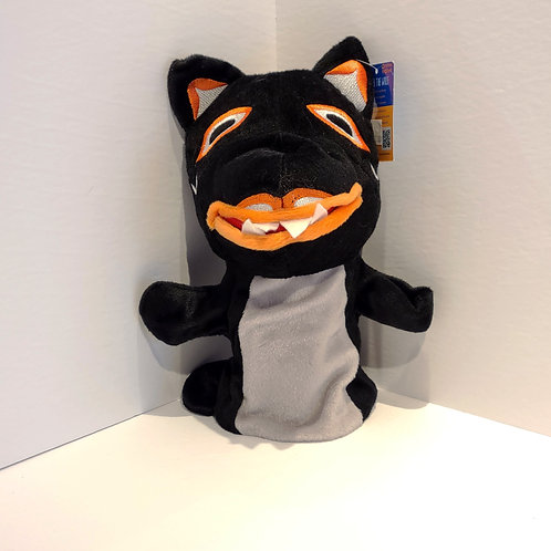 """""""Howler the Wolf"""" Hand Puppet"""