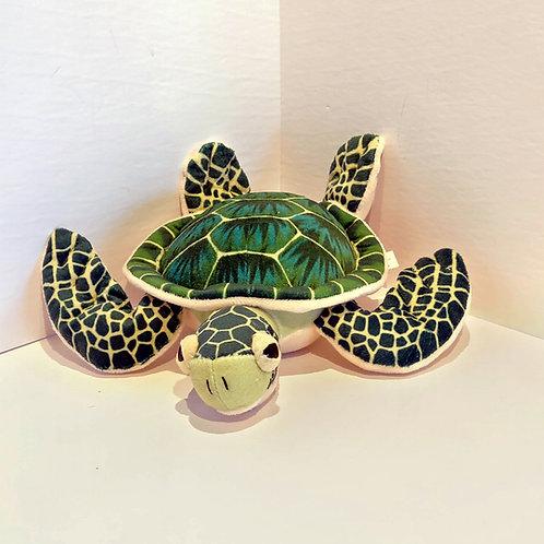 """8"""" Mini Sea Turtle Stuffed Animal"""