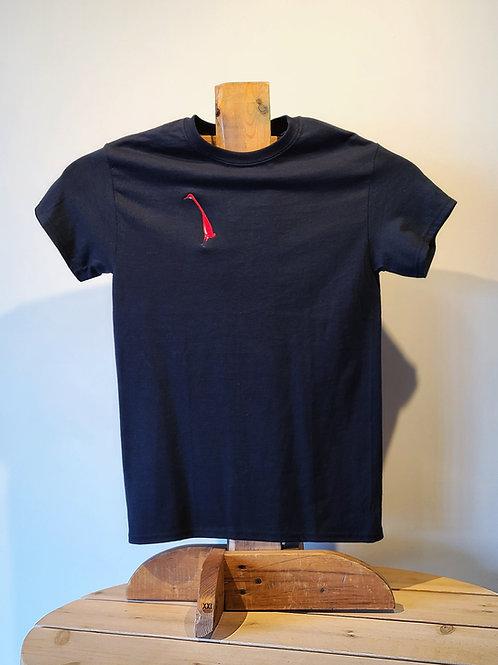 Crane T-Shirt by Alan Syliboy