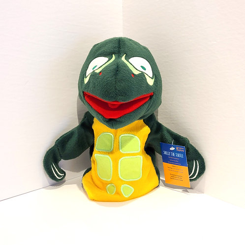 """""""Shelly the Turtle"""" Hand Puppet"""