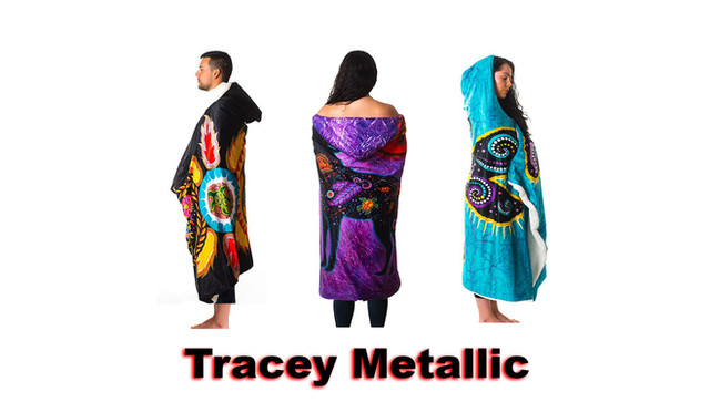 Tracey Metallic Clothes