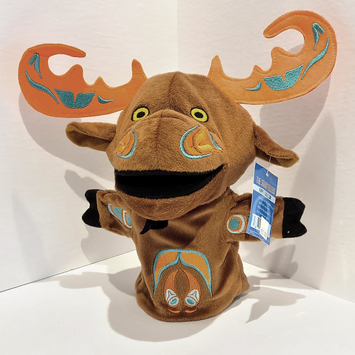 """""""Mo the Moose"""" Hand Puppet"""