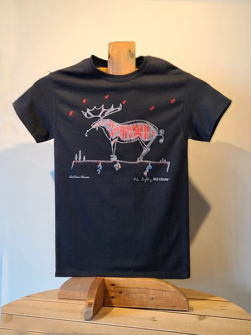 Moose T-Shirt by Alan Syliboy