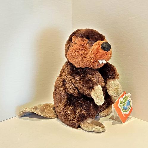 "8"" Small Beaver Stuffed Animal"
