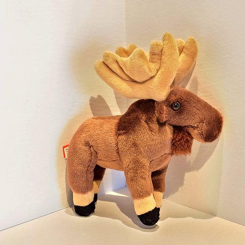 "8"" Small Moose Stuffed Animal"