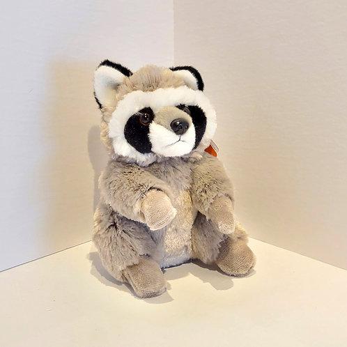 "8"" Small Raccoon Stuffed Animal"
